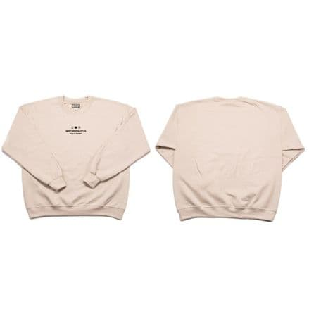 Wethepeople SQB Embroidery Sweater Cream X Large